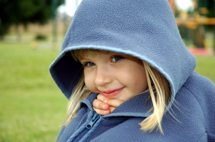 Girl in hoodie