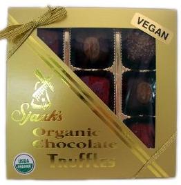 Vegan Fair Trade Organic Chocolate Truffles