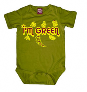eco-friendly green baby