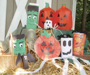 Eco-Friendly Halloween Crafts