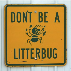 dont be a litterbug essay