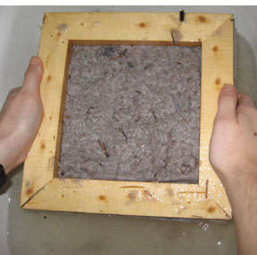 How To Make Paper Out Of Lint - step 5