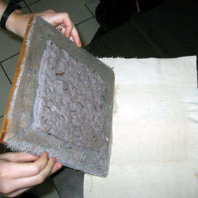 How To Make Paper Out Of Lint - step 6