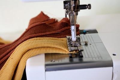 DIY Boy's Sweater Vest 7