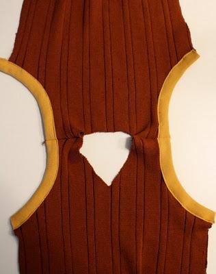 DIY Boy's Sweater Vest 8