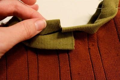 DIY Boy's Sweater Vest 12