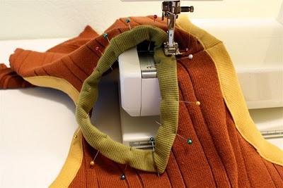 DIY Boy's Sweater Vest 13