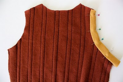 DIY Boy's Sweater Vest 5