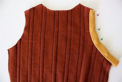 DIY Boy's Sweater Vest 5