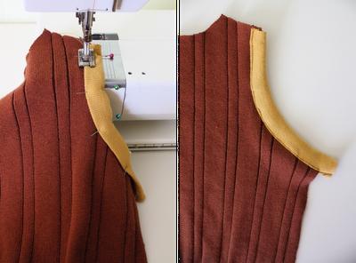 DIY Boy's Sweater Vest 6