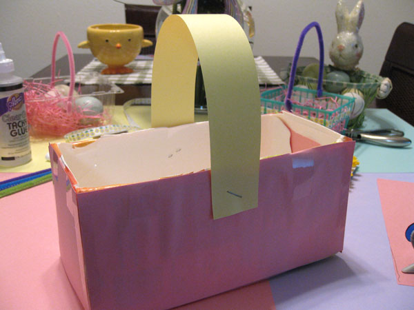 DIY Eco-Friendly Easter Baskets 7