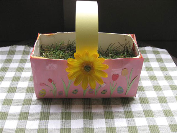 DIY Eco-Friendly Easter Baskets 8