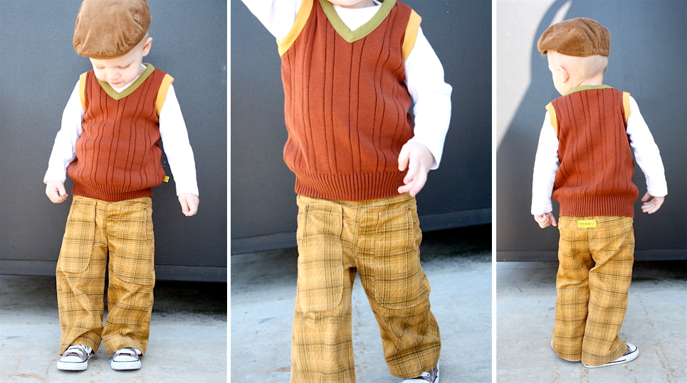DIY - Boy's Sweater Vest from a Man's Sweater