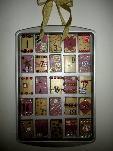 Diy Matchbox Advent Calendar : Diy matchbox advent calendar the go green