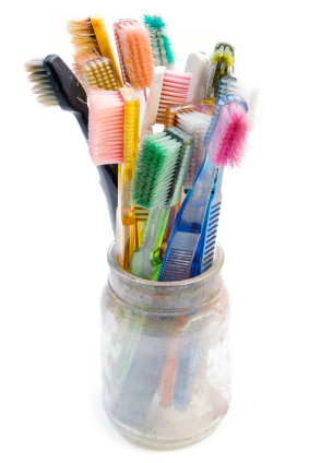 De eléctrico Masturbarse con cepillo dientes